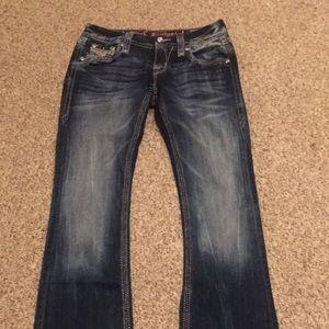 Rock revival  jeans Sz 25 boot cut Euc